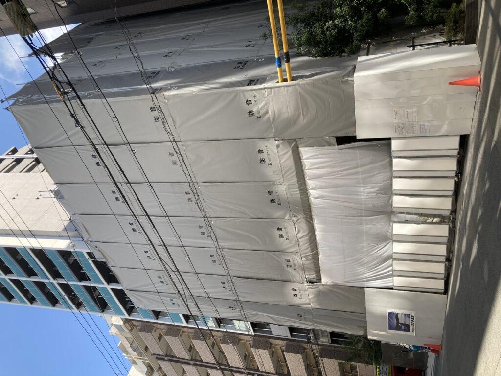 (仮称)セレニテ徳井町PJ新築に伴う解体工事 施工:スナダ建設 解体:古屋組